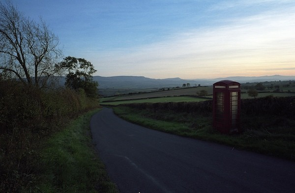 phonebox clyro hill
