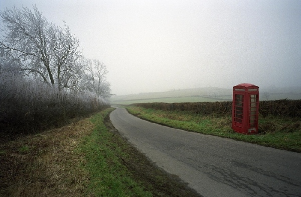 Phone box on Clyro Hill 12: January 30th, 2006