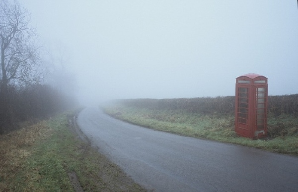 Phone box on Clyro Hill 19: March 14th, 2006