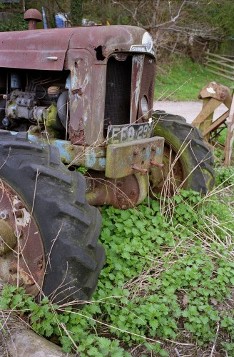Disused Super-Fordson Tractor