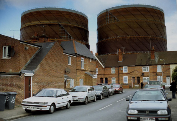 Gasometers in Reading